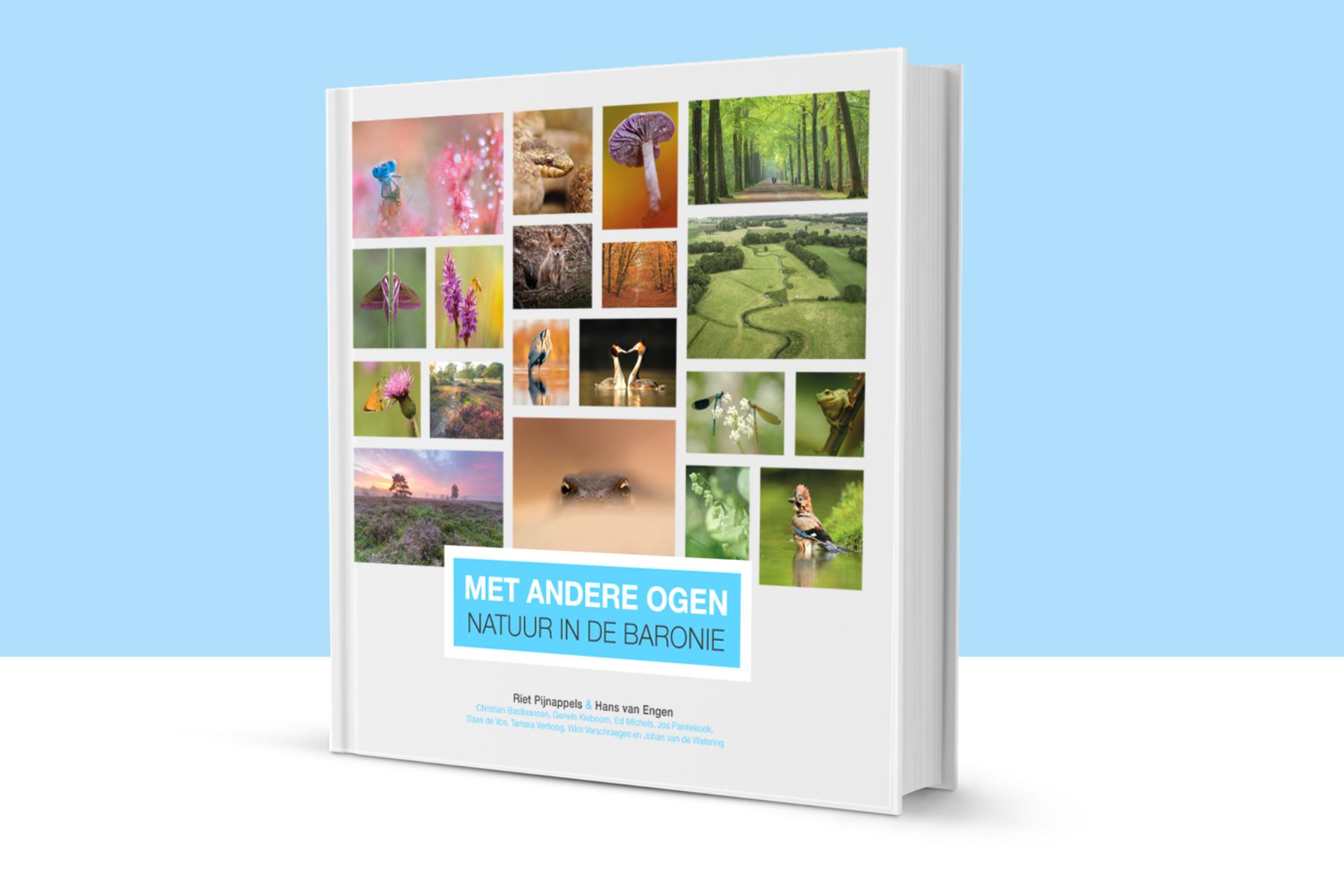 Boek 'Met andere ogen – natuur in de Baronie'